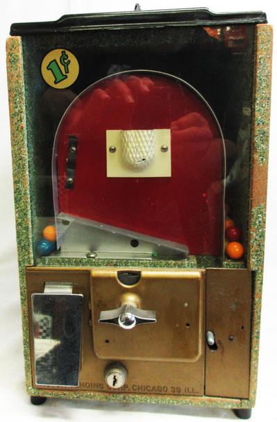Victor Basketball / Gumball Dispenser circa 1940's