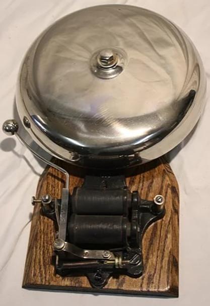 "Firehouse 10"" Original Chrome Bell by Elka"