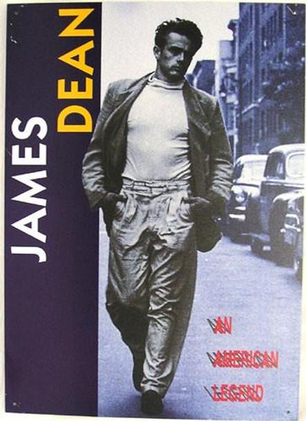 James Dean An American Legend Metal Sign