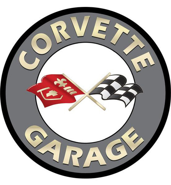 """Corvette Garage 12"""" disk"""