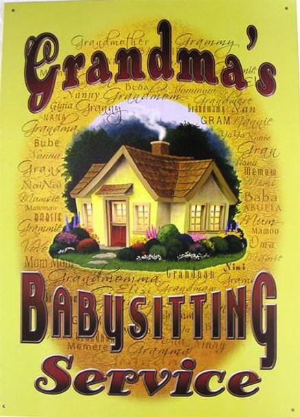 Grandma's Babysitting Service 1