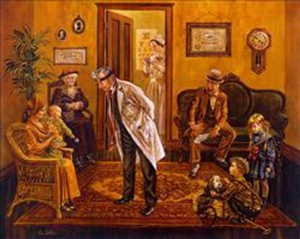 Doctor's Office/Norman Rockwell