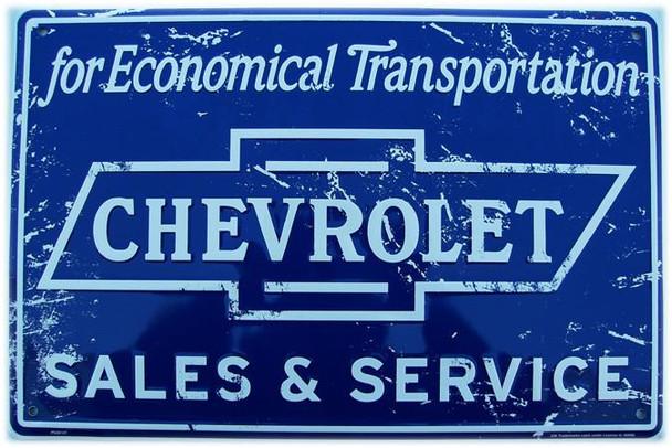 Chevrolet Sales & Service (rustic)