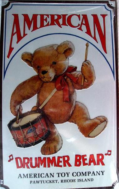 American Drummer Bear
