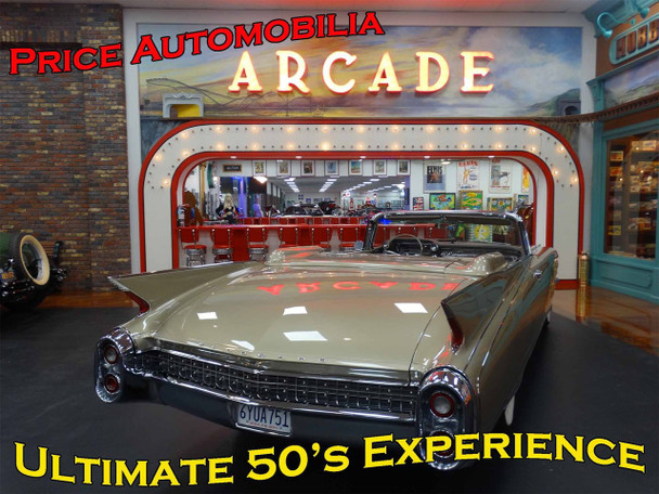 Arcade The Ultimate 50's Experience Metal Sign
