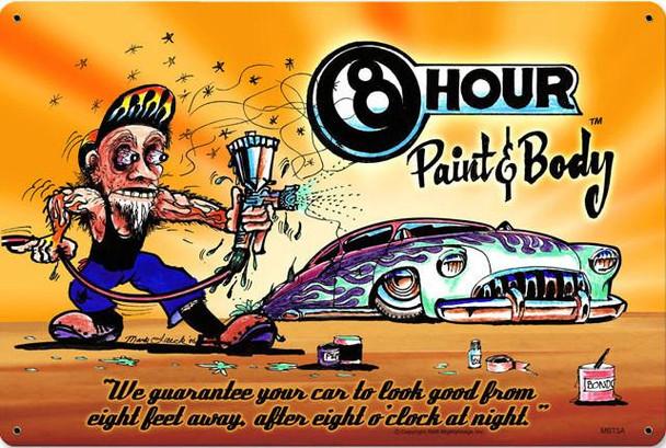 8 Hour Paint & Body