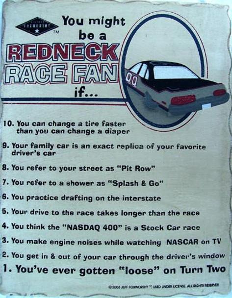 Redneck Race Fan