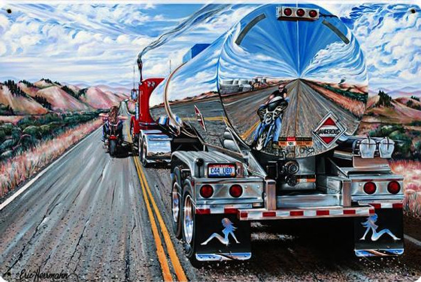 Dangerous Road Sharing with Motorcycles by Eric Herrman