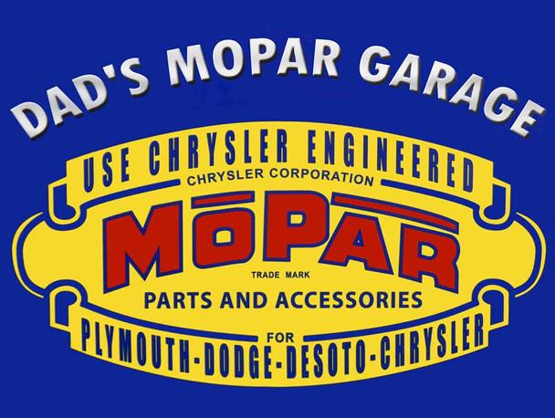 Dad's MOPAR Garage