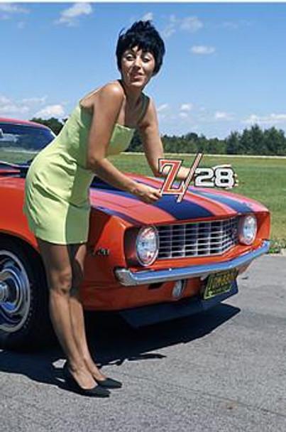 Camaro Z/28 1969 Metal Sign