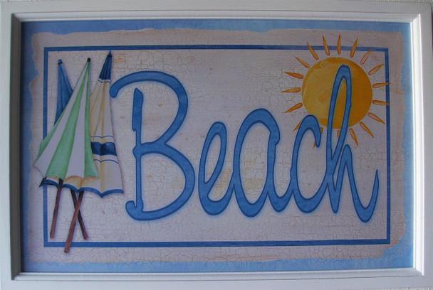 Beach Pub Signs (Set of 6)