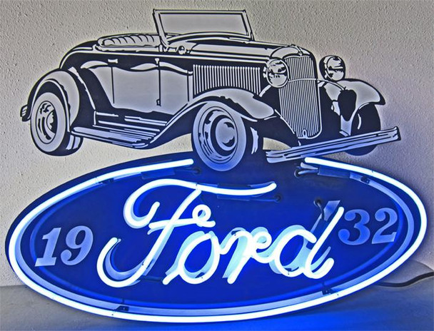 Ford 1932 Roadster Neon