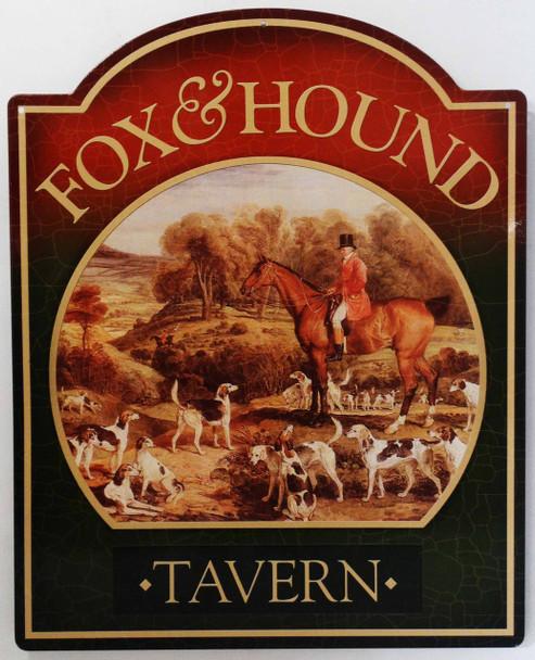 Fox & Hound Tavern Pub Sign