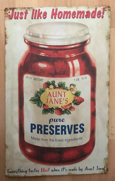 Aunt Jane's Pure Strawberry Preserves