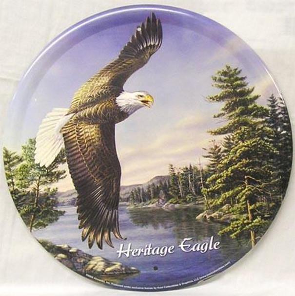 Heritage Eagle Metal Sign