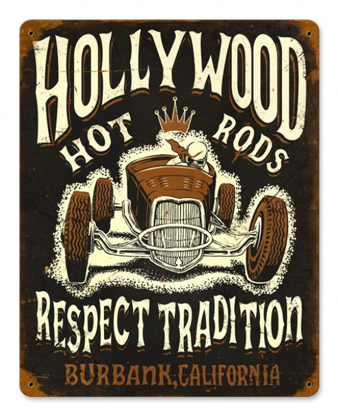 Hollywood Hot Rods-Respect Tradition