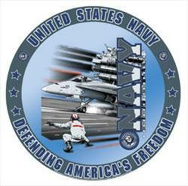 United States Navy Metal Sign