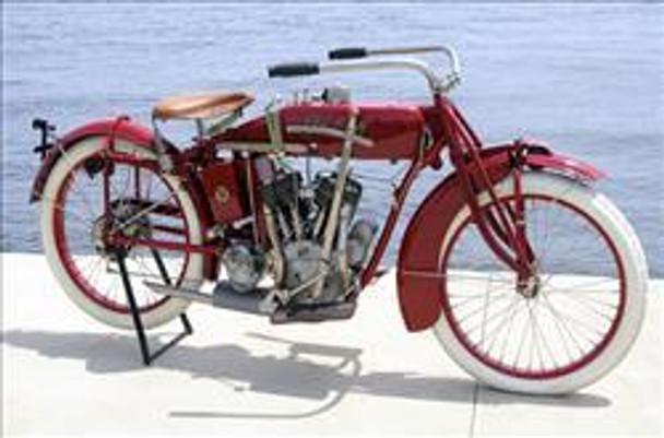 Vintage Indian Motorcycle Metal Sign