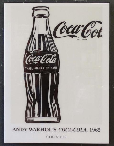 Andy Warhol Acrylic Art Coca-Cola