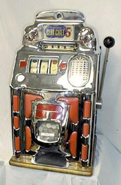 Slot Jennings Club Chief 5c Slot Machine