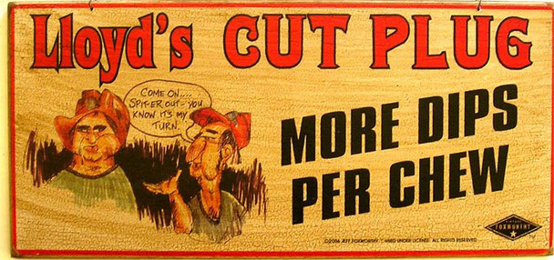 Lloyd's Cut Plugs-Foxworthy