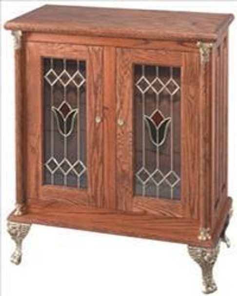 Deluxe Double Slot Stand w/ Tulip Glass