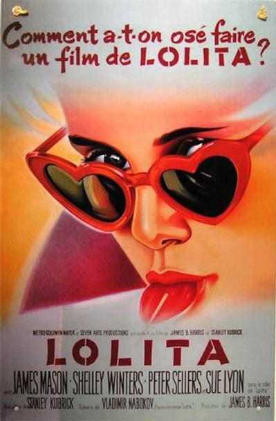Lolita Movie Poster Metal Sign