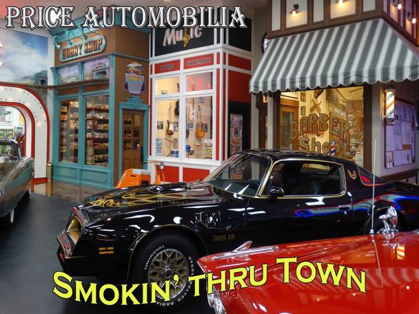 Smokin' Thru Town Trans Am Metal Sign