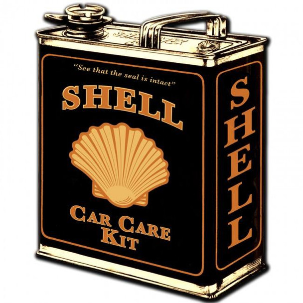Shell Oil Can ( plasma cut ) Metal Sign