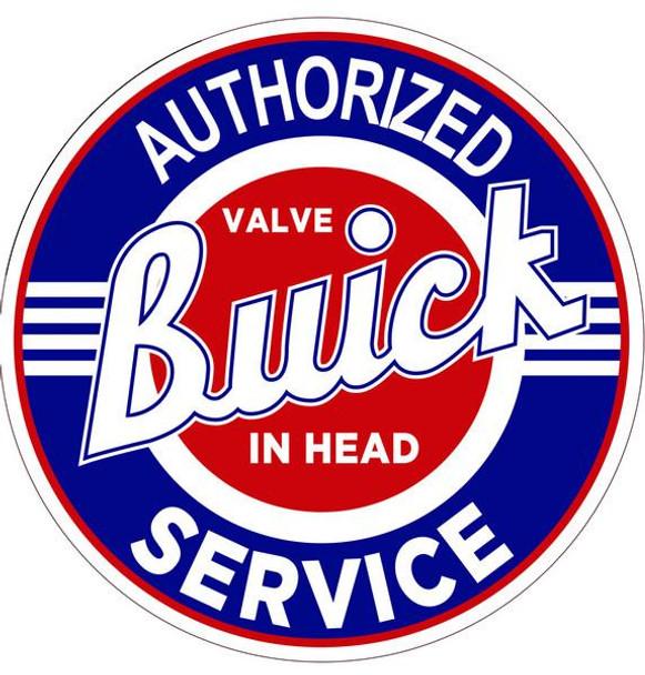 "Buick-Authorized Service 12"""
