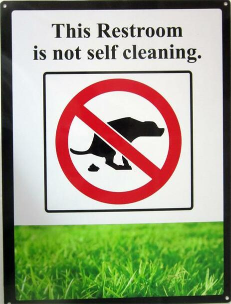 Restoom Not Self Cleaning