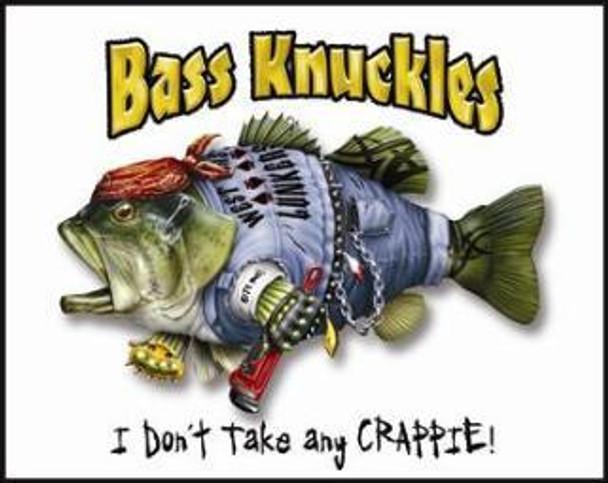Bass Knuckles (disc) Metal Sign