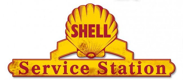 Shell Service Station ( Rustic )