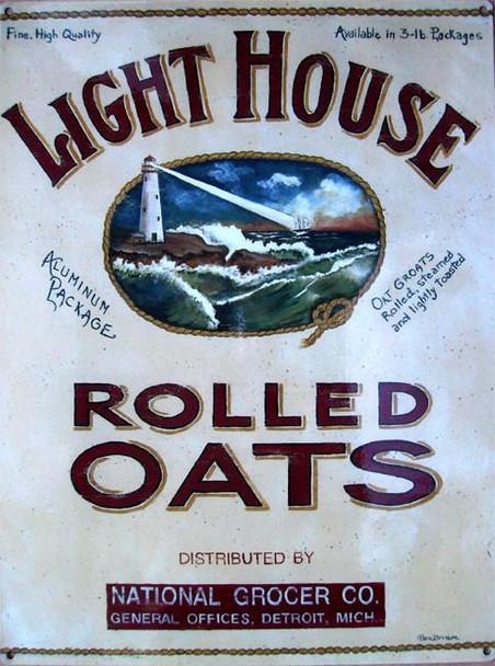 Lighthouse Rolled Oats