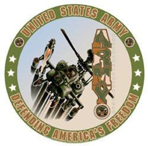 United States Army (Round)