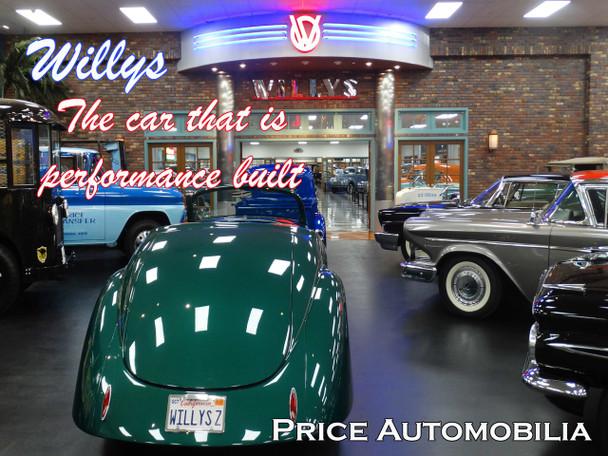 Willys Dealership Metal Sign