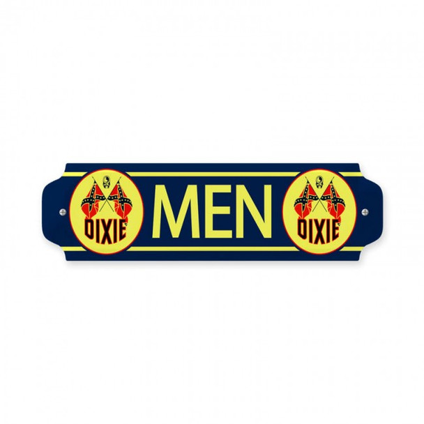 Dixie Gasoline Men's Bathroom Plaque