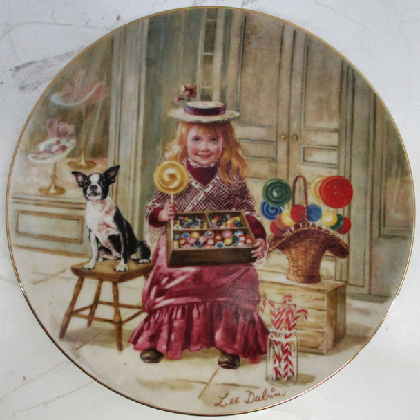"""""""Penny Candy"""" Lee Dubin Collector Plate"""