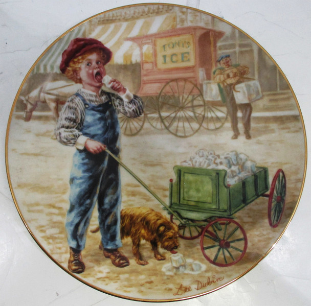 """""""Coolin' Off"""" Lee Dubin Collector Plate"""