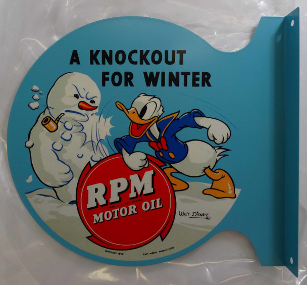 Donald Duck RPM Motor Oil