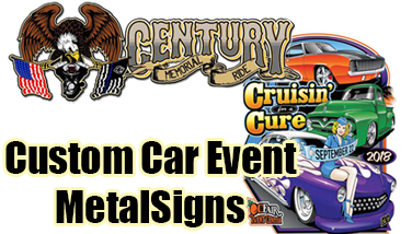 Custom Car Event Sign
