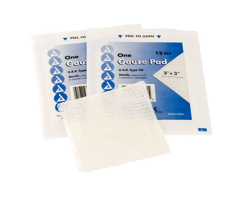 "3""x3"" Gauze Pads - qty. 100 