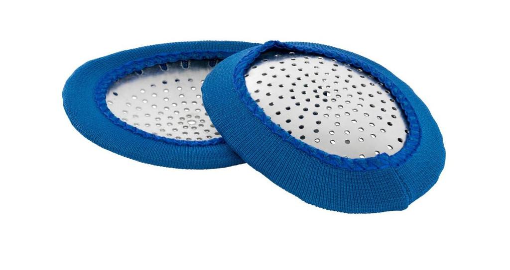 Aluminum Eyeshields - qty. 100   MH Eye Care