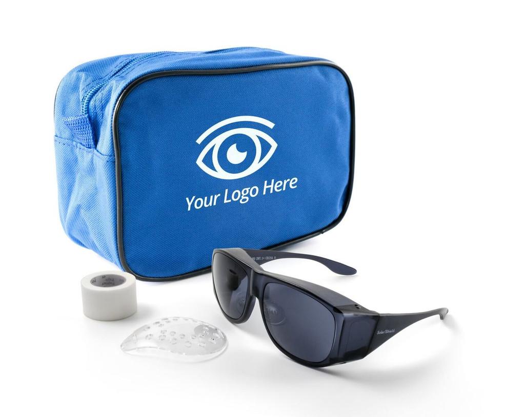 Premium Zippered Bag - Cataract Post-Op Kit | MH Eye Care Product