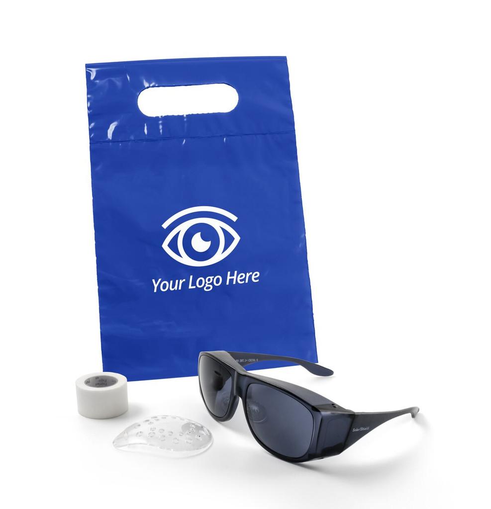Die Cut Handle Bag - Cataract Post-Op Kit | MH Eye Care Product