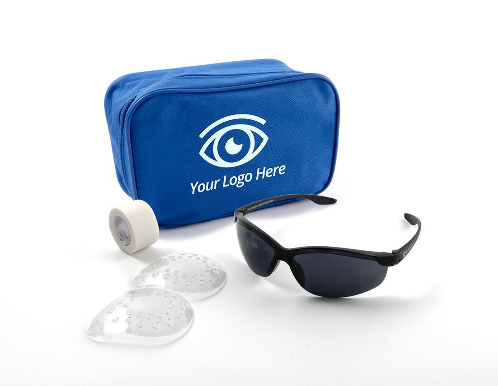 Premium Zippered Bag - LASIK Post-Op Kit