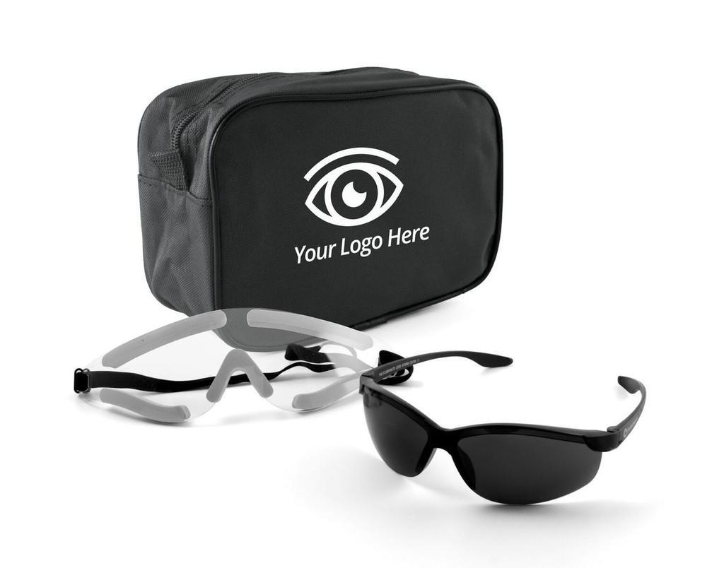 Premium Zippered Bag - LASIK Post-Op Kit | MH Eye Care Product