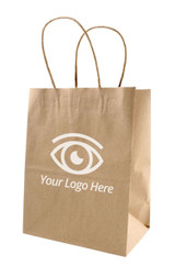 Brown Paper Boutique Bag | MH Eye Care Product