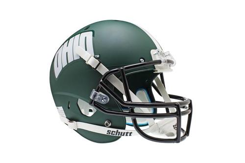 Ohio University Bobcats Alternate Green Schutt Full Size Replica XP Football Helmet