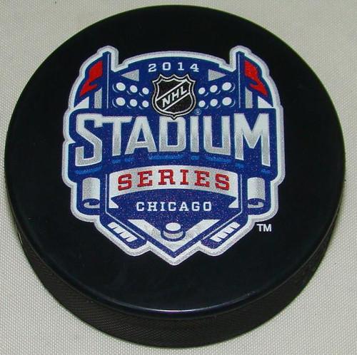 2014 NHL Stadium Series Chicago Sherwood Souvenir Game Puck